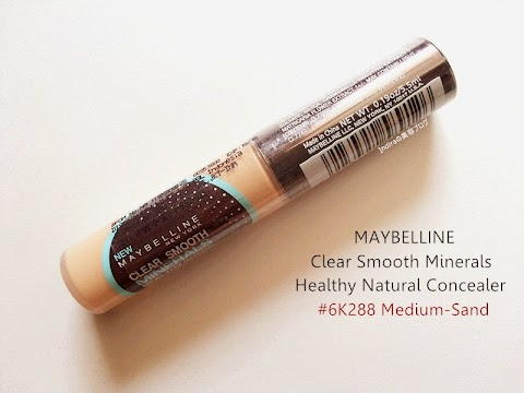 [REVIEW] Maybelline : Clear Smooth Minerals Healthy Natural Concealer - #6K288 Medium-Sand
