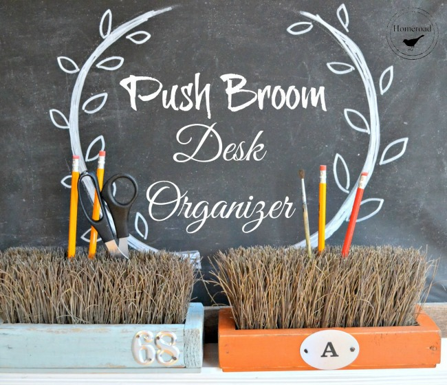 push broom organizers for the office