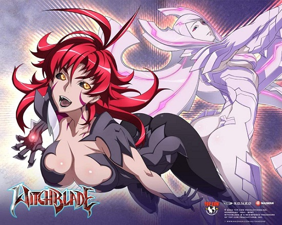 Witchblade BD Subtitle Indonesia