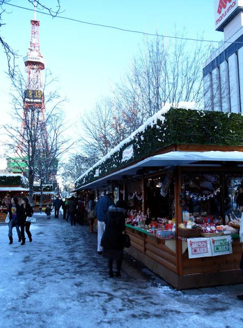 German Christmas Market in Sapporo   November 22nd - December 25th, 2018