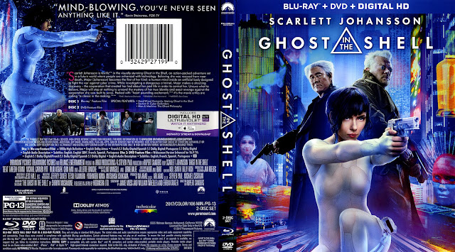 Ghost In The Shell Bluray Cover