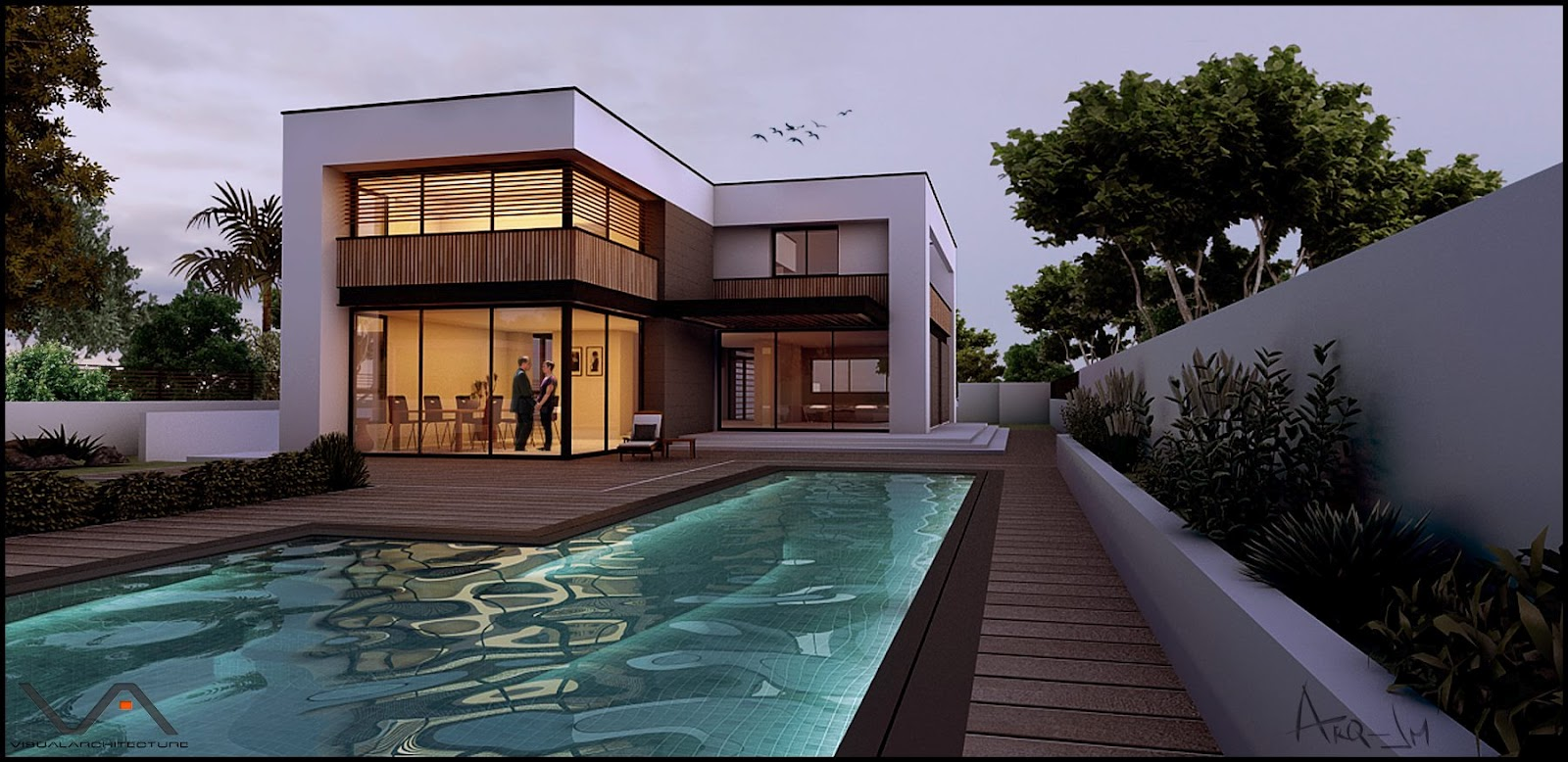 Nomeradona sketchup vr ssmds 6 ms house by juan manuel ariza Exterior house rendering software free