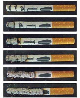 Stress Bilder lustig - Rauchen witzig