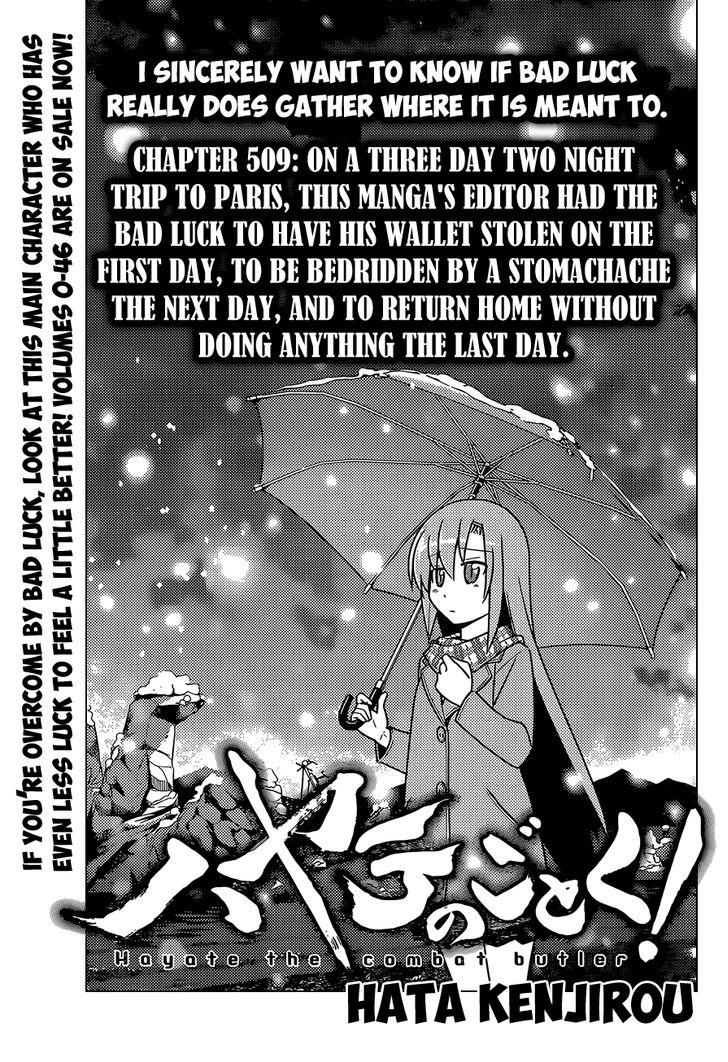 Hayate the Combat Butler - Chapter 544