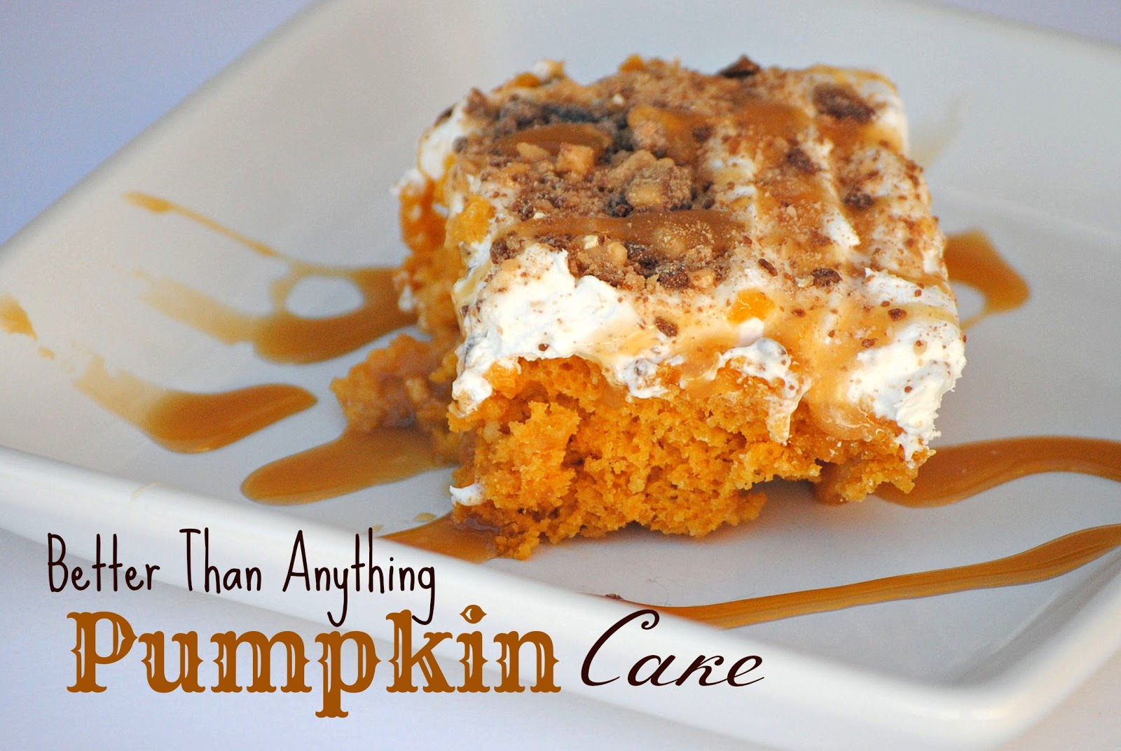 Pumpkin Cake Recipe With Cake Mix