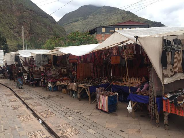 Mercado de Pisac Perú