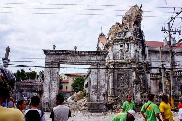 Damaged Sto. Niño Church | Cebu Bohol Earthquake