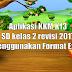Aplikasi KKM K13 SD kelas 2 revisi 2019-2020 menggunakan format Excel