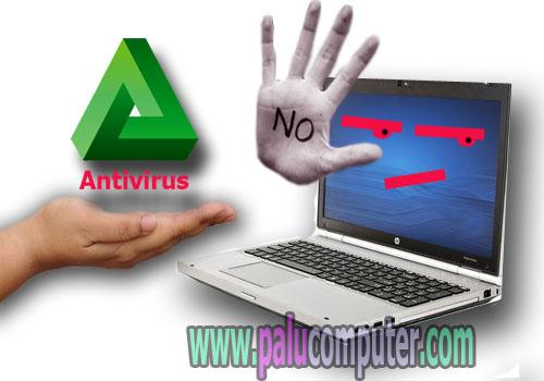 kalau laptop tidak diinstal antivirus