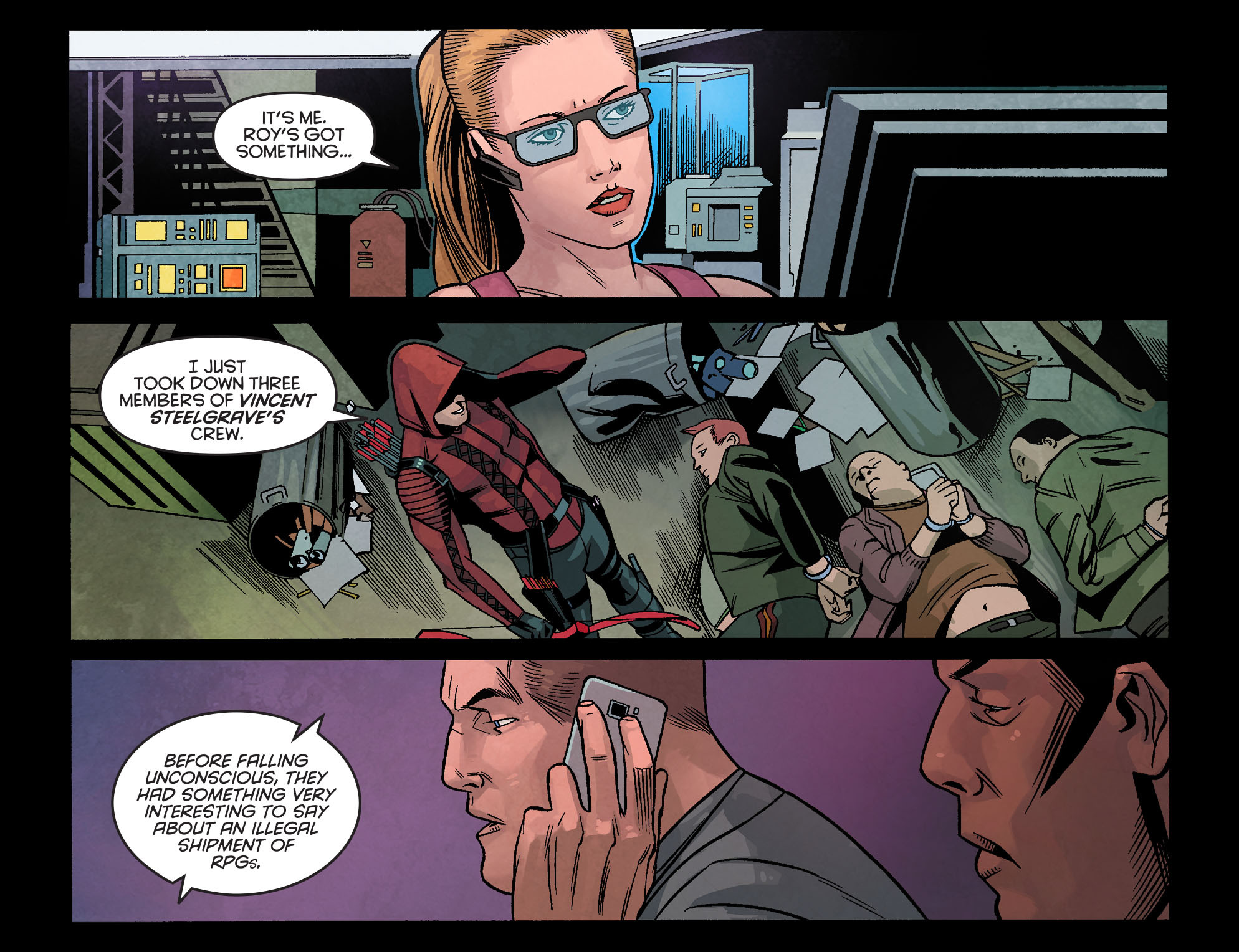 Read online Arrow: Season 2.5 [I] comic -  Issue #24 - 17