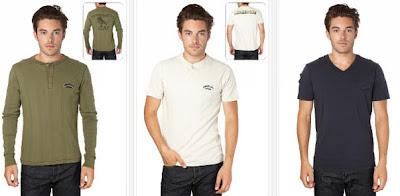 Camisetas para hombres de la marca Schott NYC
