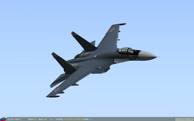 Това не е самолет, а Нло - руския изтребител Су-35 на авиосалона в Бурже (ВИДЕО)