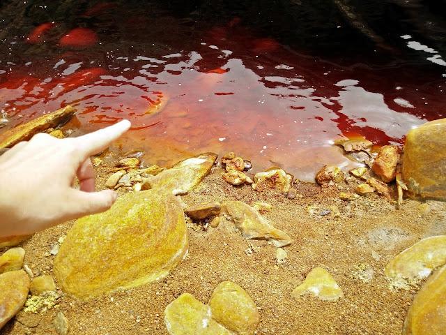 visitar El río tinto por nuestra cuenta