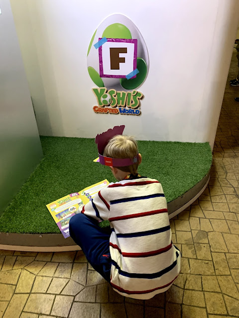 Easter egg hunt at Kidzania, Easter 2019