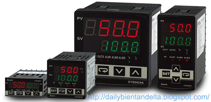 Đồng hồ nhiệt độ Delta Series DTB hãng Delta