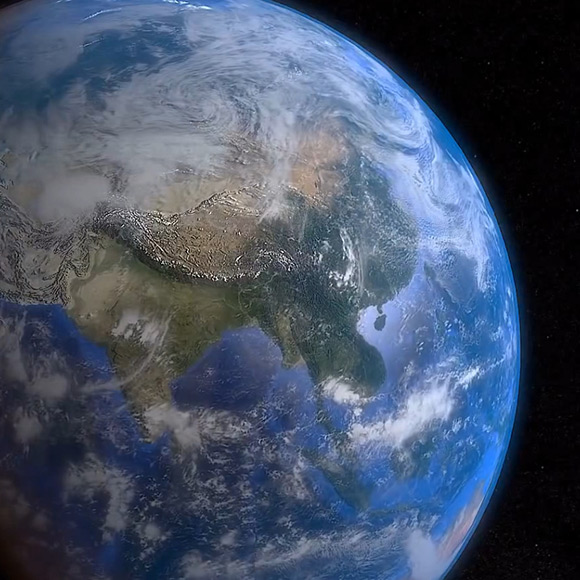 Earth Spin Wallpaper Engine