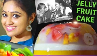 JELLY FRUIT CAKE | FRUITS CAKE | MEGHNAZ STUDIOBOX | CHINA GRASS | JIMIKKI KAMMAL | MEGHNA