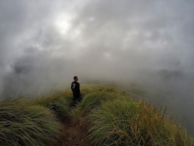 Underneath the Sea of Clouds at Rangyas Peak Mt. Batolusong, San Andres Tanay Rizal