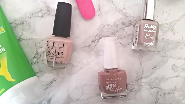 summer nude nail polish