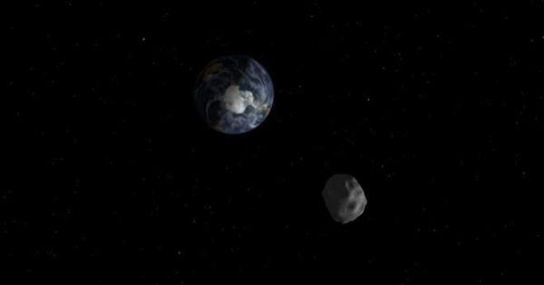Asteroide potencialmente peligroso pasa por la Tierra en abril