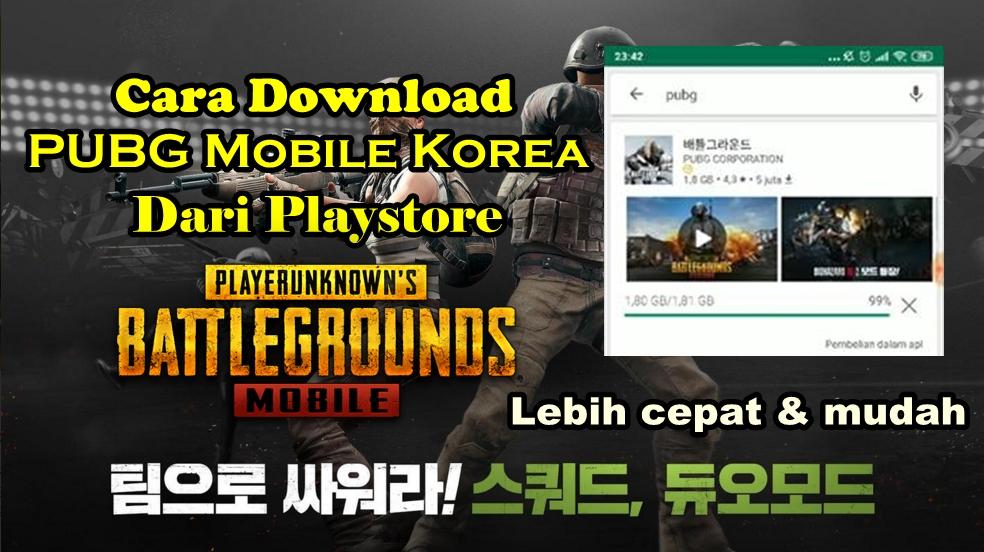 instal pubg mobile korea dari playstore