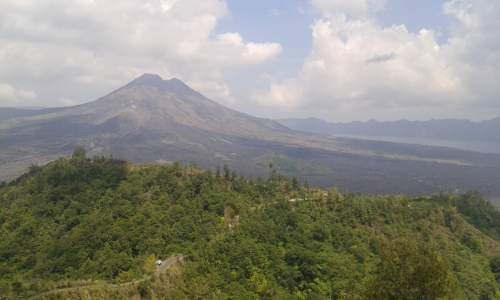 View Batur Volcano at Kintamani