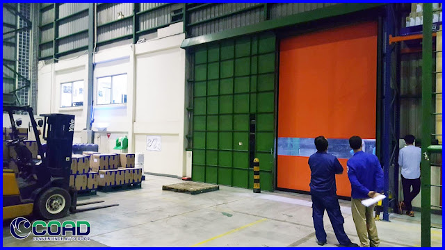 COAD, HIGH SPEED DOOR, ROLL UP DOOR, ROLLING DOOR, RAPID DOOR, KOREA, JAPAN, MALAYSIA, INDONESIA, THAILAND, VIETNAM