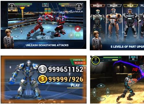 Real Steel Boxing Champions v1.0.448 (Mod Money) Apk