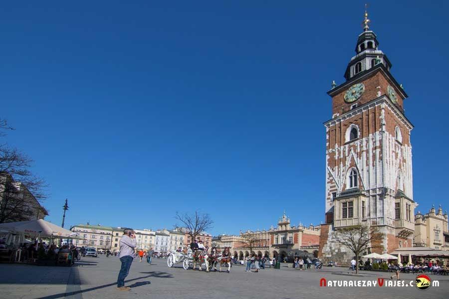 Antigua Torre del Ayuntamiento de Cracovia