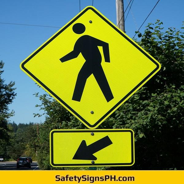 Road Pedestrian Crossing Signage Philippines