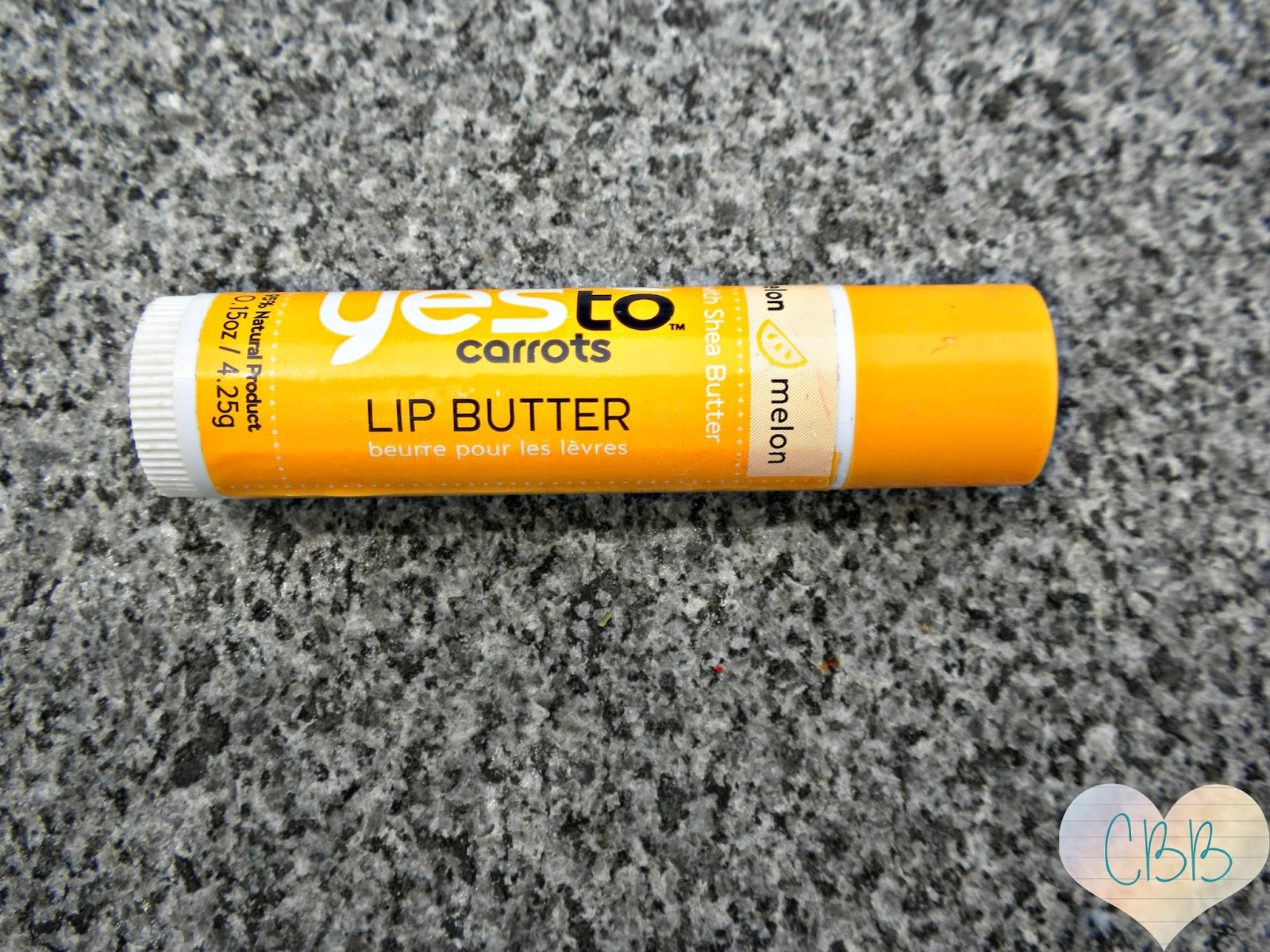 Everyday Lip Balm: YES TO CARROTS Lip Butter ($3)