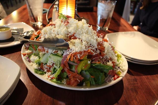 Italian Table Salad  at SLYCE