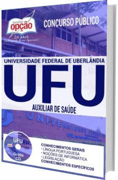 Apostila UFU 2017 Auxiliar de Saúde