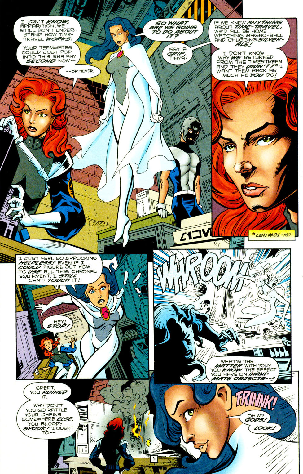 Legion of Super-Heroes (1989) 93 Page 4