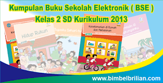 Kumpulan Buku Sekolah Elektronik ( BSE ) Kelas 2 SD Kurikulum 2013