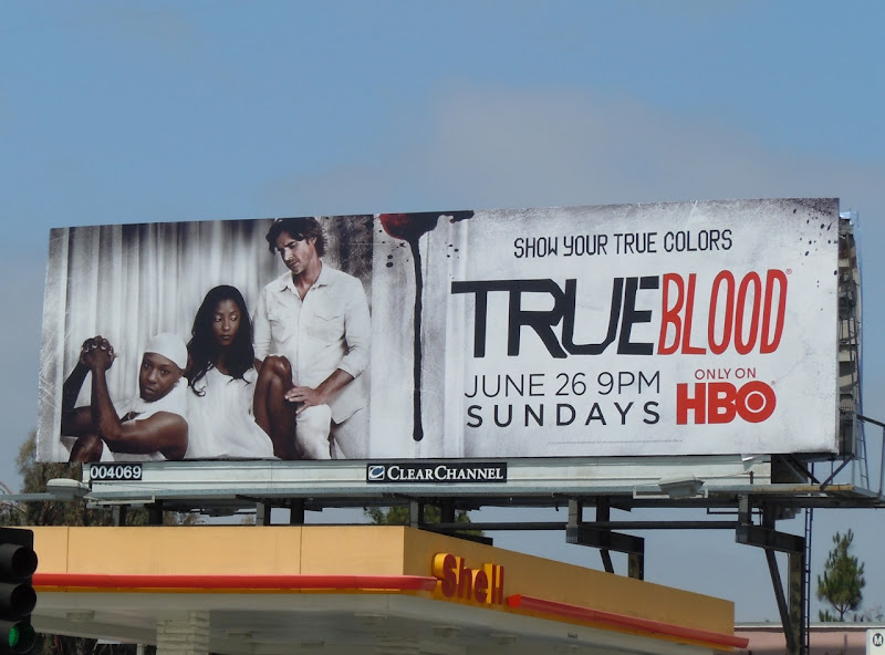 True Blood Lafayette Tara Sam season 4 billboard