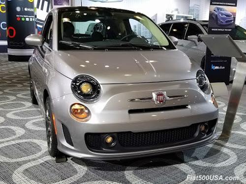 2018 Fiat 500 Billet Argento