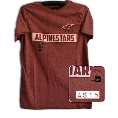 Kaos Surfing Skate ALPINESTAR Premium Kode AS15
