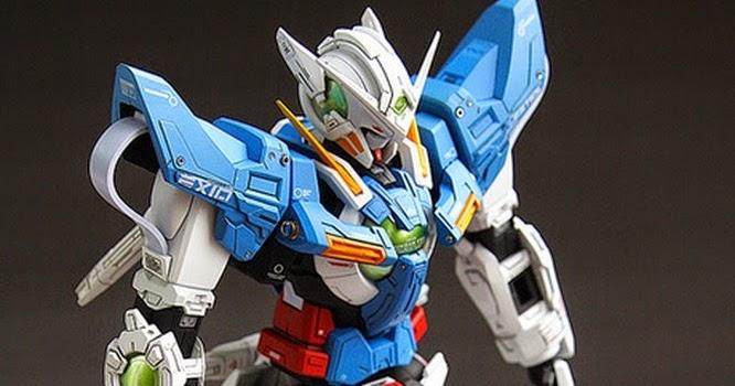 """Custom Build: 1/60 GN-001 Gundam Exia """"Perfect Grade ..."""