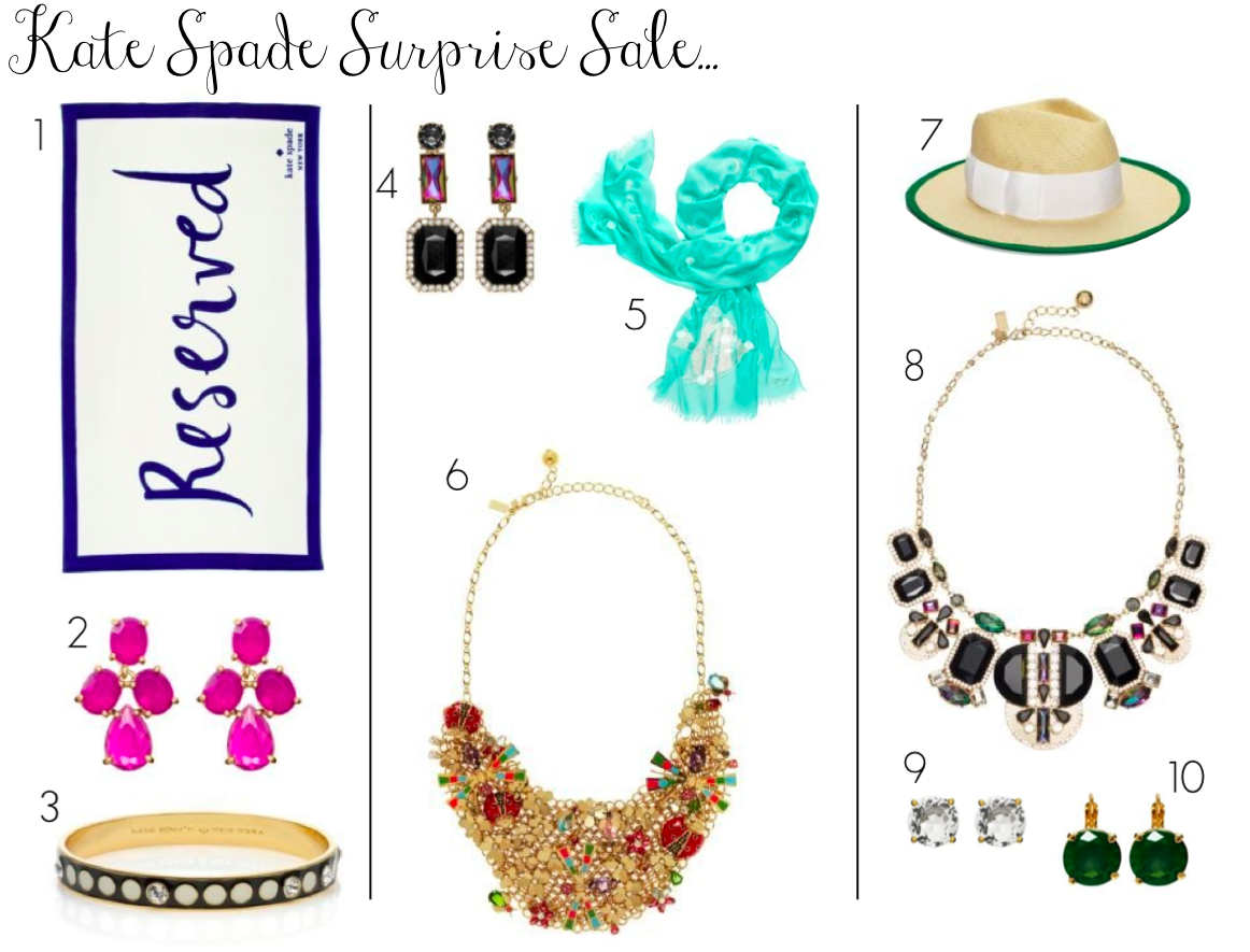 kate spade surprise sale - kate spade jewelry - kate spade accessories