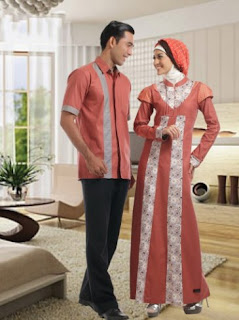 Busana couple muslim trendy