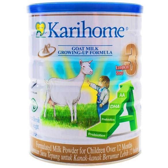 Karihome step 3 - untuk kanak kanak berusia lebih dari 12 bulan.