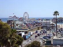 pier de Santa Monica, Califórnia
