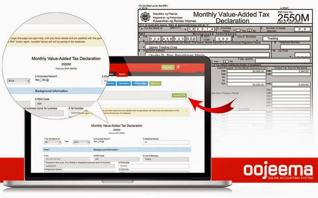 Oojeema, Online Accounting System