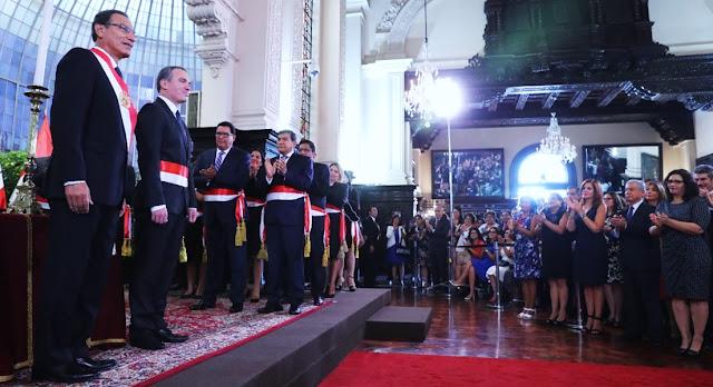 Gabinete Ministerial muestra paridad entre varones y mujeres