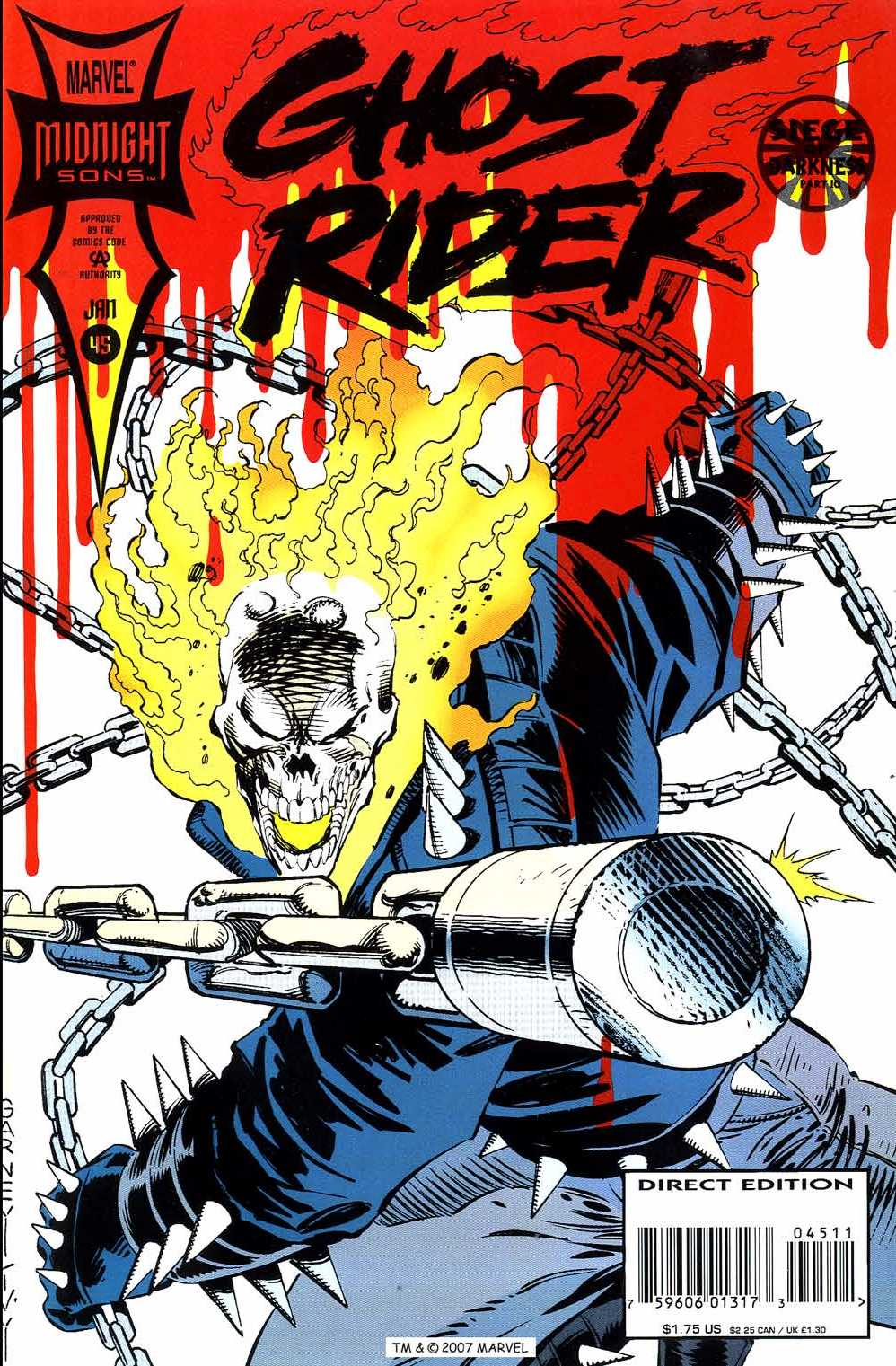 Ghost Rider (1990) 45 Page 1