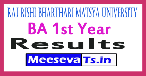 RRBMU BA 1st Year Result 2017 All India Govt Jobs,Aadhar,Ration