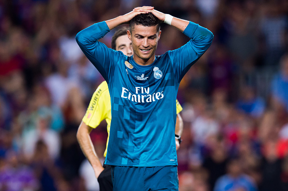 Cristiano Ronaldo scores & sent off in Real Madrid's victory over Barcelona