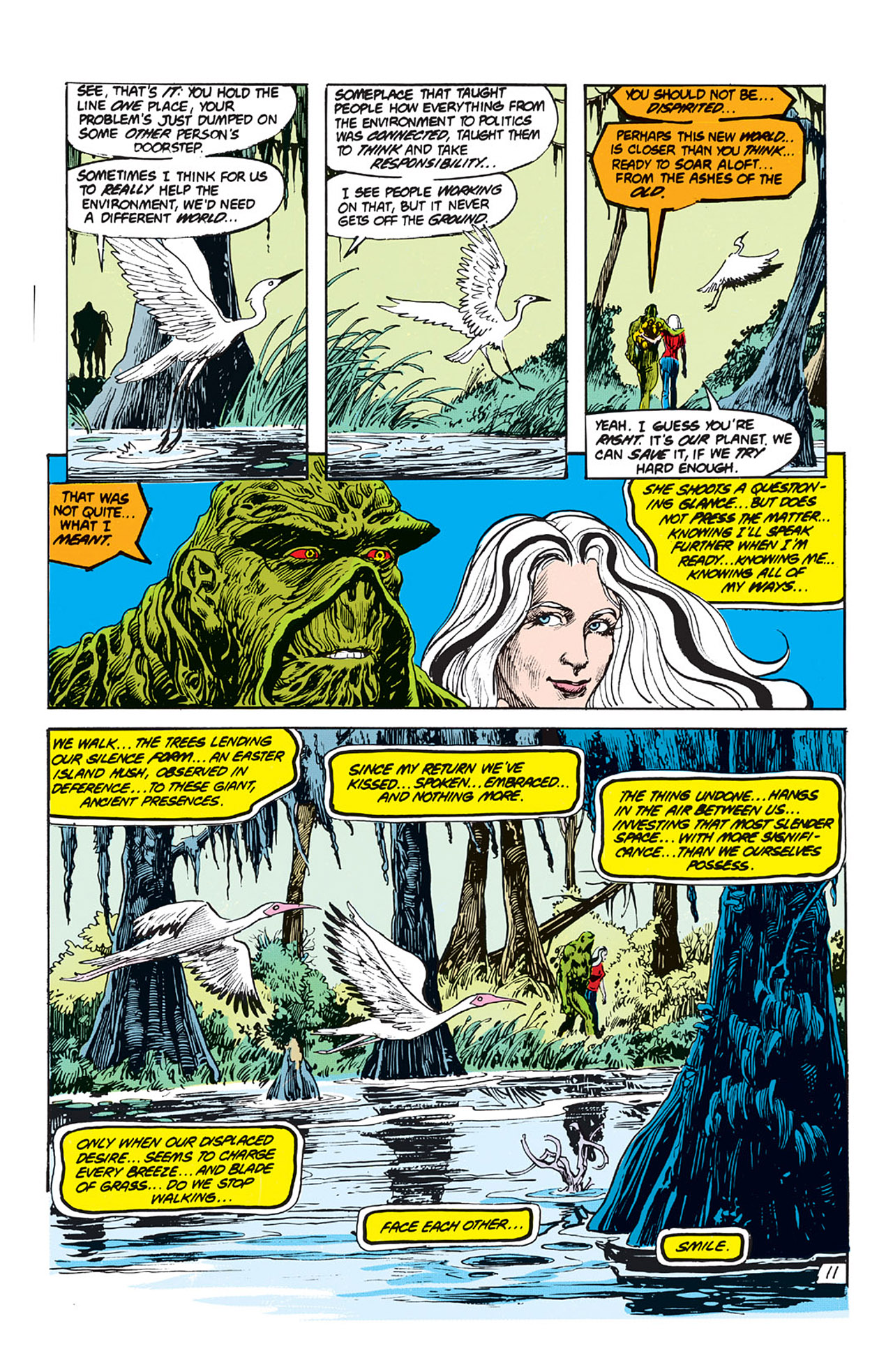 Swamp Thing (1982) Issue #64 #72 - English 12