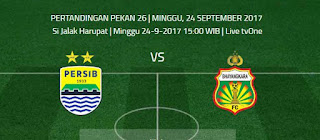 Susunan Pemain Persib Bandung vs Bhayangkara FC